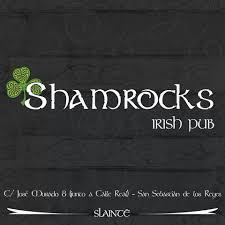 Icono irish pub shamrocks