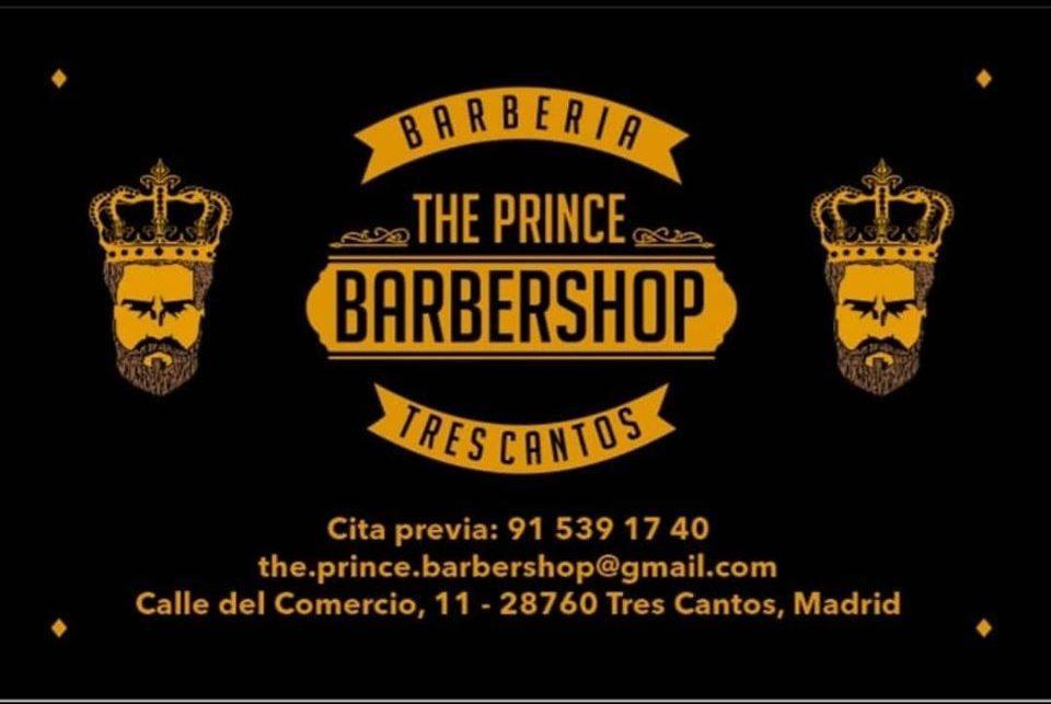 Icono barbería The prince